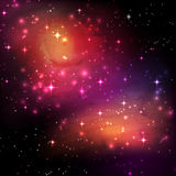 Space galaxy background Stock Image