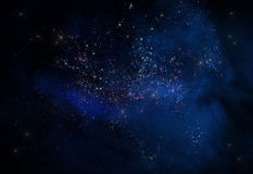Space Galaxy. 3d render s royalty free illustration