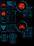 Space game asset vector illustration