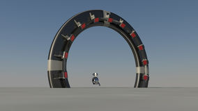 Space Gate stock illustration