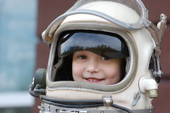 Space Girl Stock Image