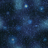 Space with glow stars background. Stock Photo