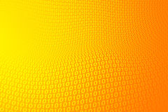 Space grey Background. Space Digital Energy Map - Orange Royalty Free Stock Image