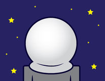 Space Helmet Blank Stock Images