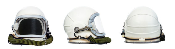 Space helmets royalty free stock image