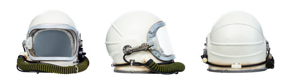 Space helmets Royalty Free Stock Images