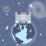 Space hospital global Stock Photos