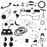 Space Icons Vector Set Stock Image