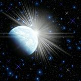 Space. illustration for design royalty free stock images