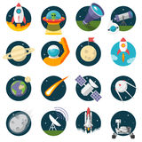 Space, Illustration series Royalty Free Stock Photography
