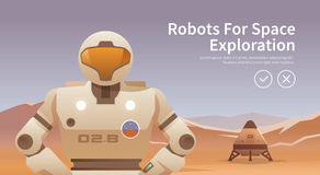 Space illustration Royalty Free Stock Photography