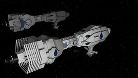 Space invasion Stock Photos