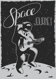 Space Journey Poster Royalty Free Stock Photos