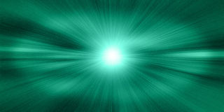 Space Jump. Abstract green color image of the space jump royalty free illustration