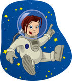 Space Kid 3 Stock Images