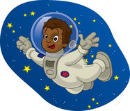 Space Kid #4 Stock Photography