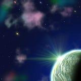 Space landscape Stock Image