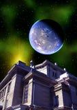 Space landscape Stock Photo