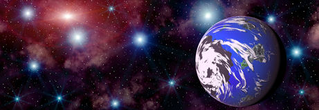 Space landscape Stock Photography
