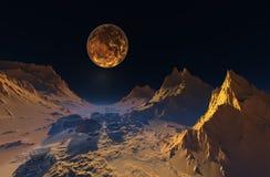 Space landscape. Stock Image