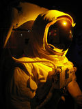 Space man. A complete astronaut setup under dramatic lighting Royalty Free Stock Photo