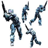 Space Marine Stock Images