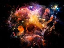 Space Matter Stock Photography