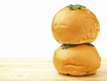Space mayo bread Stock Photography