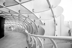 Space Metropol Parasol interior Structures, Seville Royalty Free Stock Photography