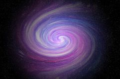 Space milky way stock photography