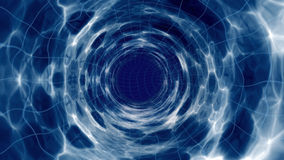 Space model of a wormhole royalty free illustration