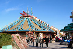 Space Mountain attraction. At Disneyland Paris Royalty Free Stock Photography