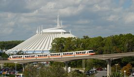 Space Mountain Magic Kingdom Royalty Free Stock Photos