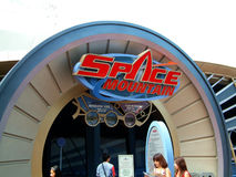 Space Mountain Roller coaster Stock Photos