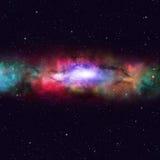 Space Multicolor Nebula Stock Photography