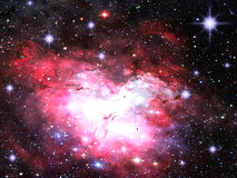 Space Nebula Royalty Free Stock Photo