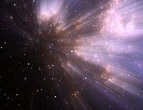 Space nebula Stock Photos