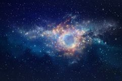 Space nebula background Royalty Free Stock Photography