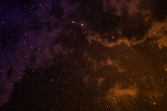 Space with nebula. Royalty Free Stock Photos
