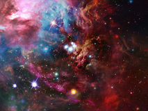 Space Nebula stock illustration