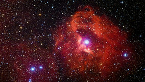 Space nebula. Elements of this image furnished by NASA Royalty Free Stock Image