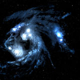 Space nebula. Stock Image