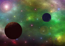 Space nebula  illustration Stock Photo