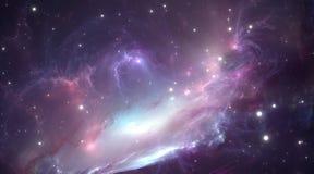 Space nebula. Illustration Royalty Free Stock Photography