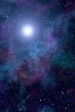 Space nebula star Royalty Free Stock Photo