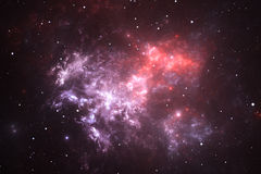 Space nebula Stock Images