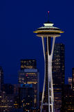 Space needle Royalty Free Stock Photo