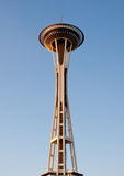 Space needle. In downtown Seattle at sunset Stock Photos