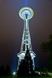 Space needle. In Seattle, USA at night Royalty Free Stock Image