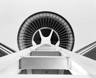 Space Needle Abstract Stock Photo
